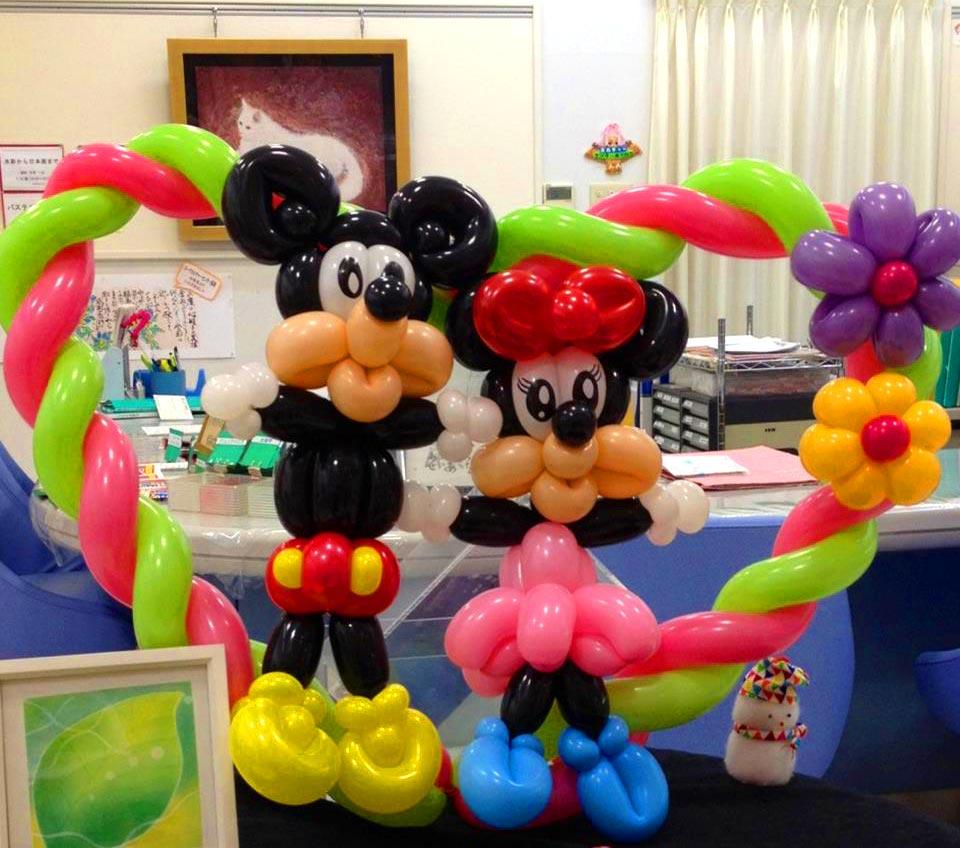 米老鼠可爱造型 - 魔术气球 - 济南气球装饰_气球装饰